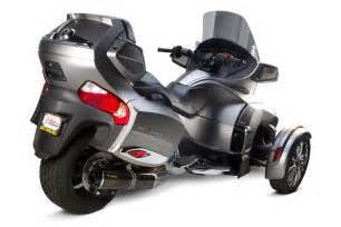 Two brothers racing can am spyder rt exhaust systems