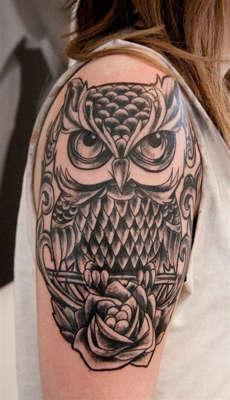 owl tattoo design arm 51 owl tattoos on arm