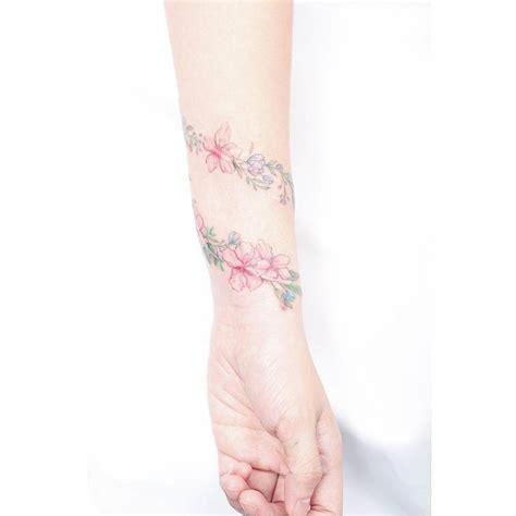 bracelet to cover wrist tattoo flower bracelet scar cover