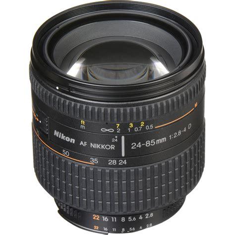 nikon af zoom nikkor 24 85mm f 2 8 4d if lens 1929 b h photo