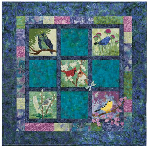 Mckenna Quilt Patterns by Garden Mckenna Pine Needles Flower Quilt