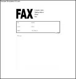 Fax Cover Letter Word Template by Free Sle Invoice Cover Letter