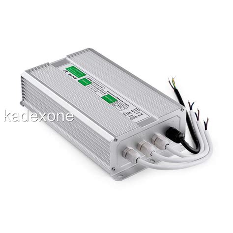 Driver Led 12 Watt waterproof led driver 12 v volt ip67 power supply transformer 10 w 200 watt ebay