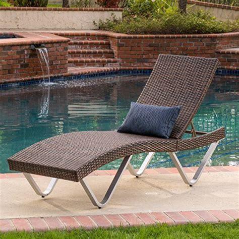 ergonomic chaise lounge manuela ergonomic wicker outdoor chaise lounge chair