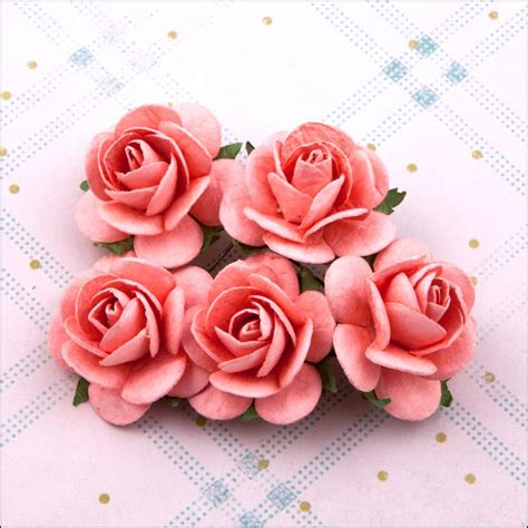 Craft Paper Roses - craft maniacs beautiful paper roses