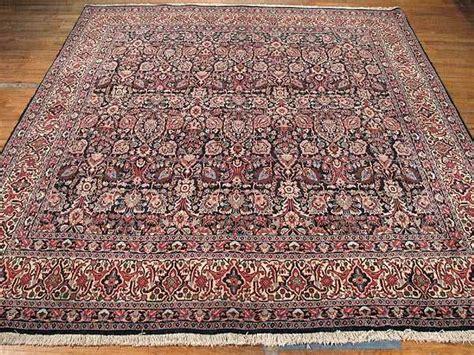 square rugs 9x9 bidjar rug 8 6 x 8 6 bidjar rug sil1415