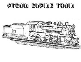 free printable train coloring pages kids