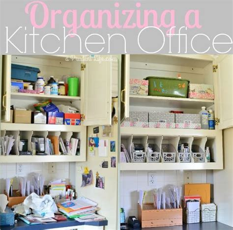 kitchen office organization ideas burlap bathroom curtains nooks offices and the pretty