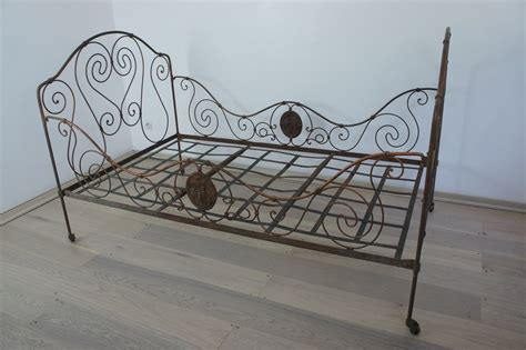 Wrought Iron Daybed Wrought Iron Bronze Bed Day Bed Vintage