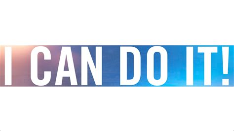 i can do it 2015