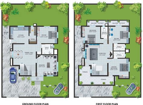 modern villa designs and floor plans modern bungalow house designs and floor plans for small