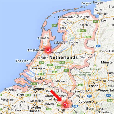 netherlands map maastricht blogography 215 maastricht