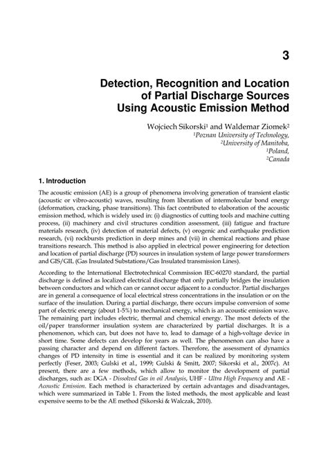 (PDF) Detection, Recognition and Location of Partial