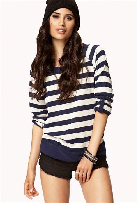 7 Chic Sweaters by Striped Terry Sweater S Fashion Winter