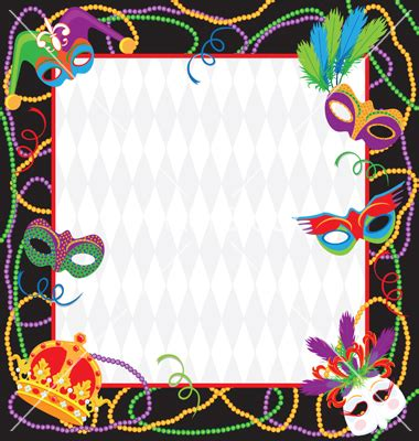 mardi gras invitations templates mardi gras invitation template best template collection