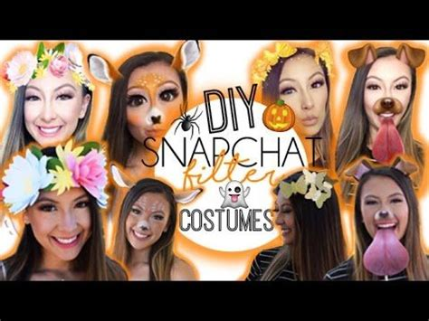 halloween themes snapchat diy snapchat filter costumes youtube home remedies