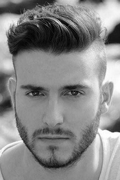 dapper hairstyles for men hairstyle for wavy hair round face male hairstyles