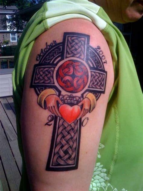sacred cross tattoos  men women january