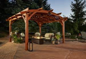 Redwood Patio Furniture by Pergolas The Foundation Of Your Outdoor Living Space