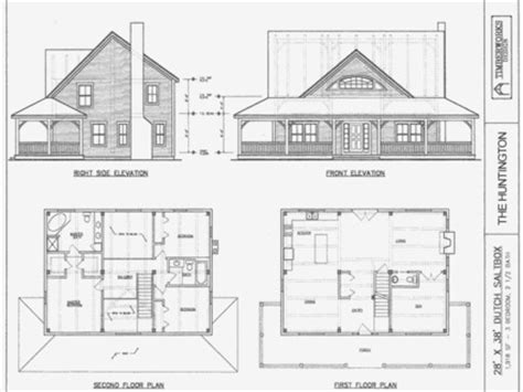 Two Story Saltbox House Plans Primitive Saltbox Houses Saltbox House Plans