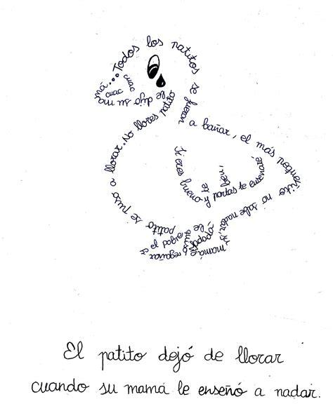 imagenes visuales en un poema taller de caligramas y pareados blog de magisterio