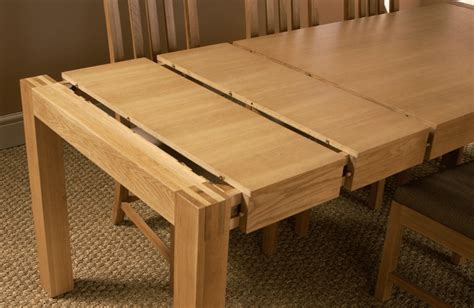 diy extendable dining table orly oak 5 ft extending dining table extends to review