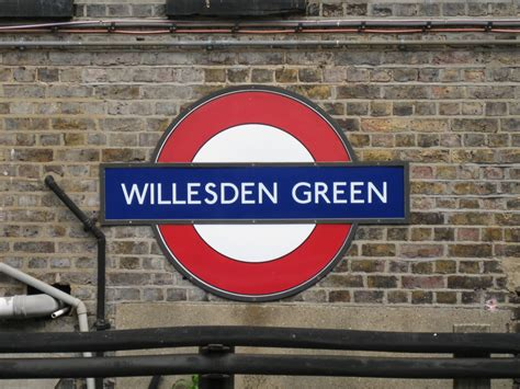 green station willesden green tube station