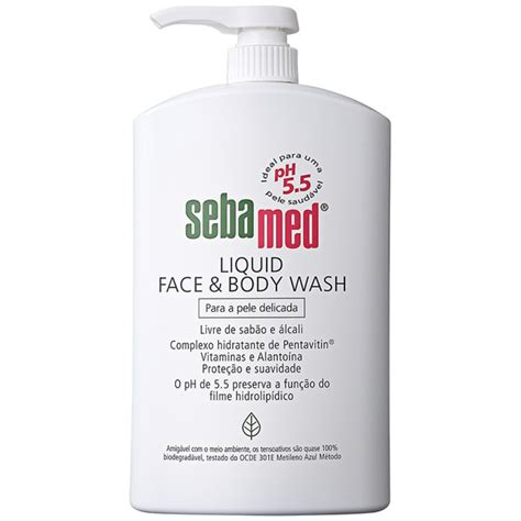 Sebamed Liquid Wash 1 sebamed liquid wash sabonete l 237 quido 1000ml beleza na web