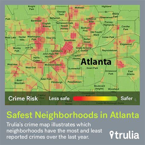 san jose crime map trulia atlanta s safest neighborhoods