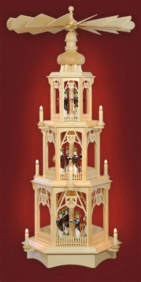 gedrechselte säulen bergmannspyramide gedrechselte figuren 3 st 246 ckig