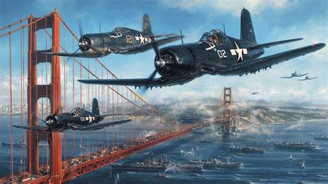 4 U Painting by F4u Corsair Wallpapers Hd