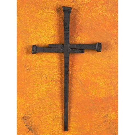 Home Decor Sheffield by Wrought Iron Spike Cross By Bella Toscana
