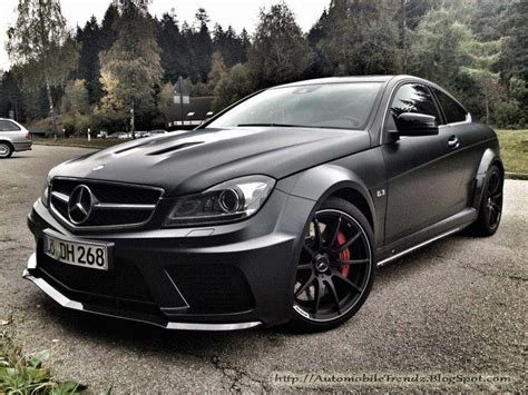 matt mercedes automobile trendz mercedes c63 amg matt black