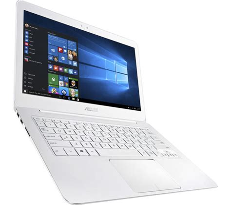 Laptop Asus White asus zenbook ux305 13 3 quot laptop white deals pc world