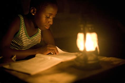 how to create light without electricity ghana has to ration electricity so that everyone can watch