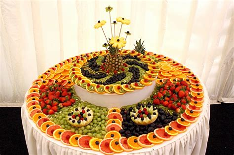 fruit table for wedding reception fruit table decorations