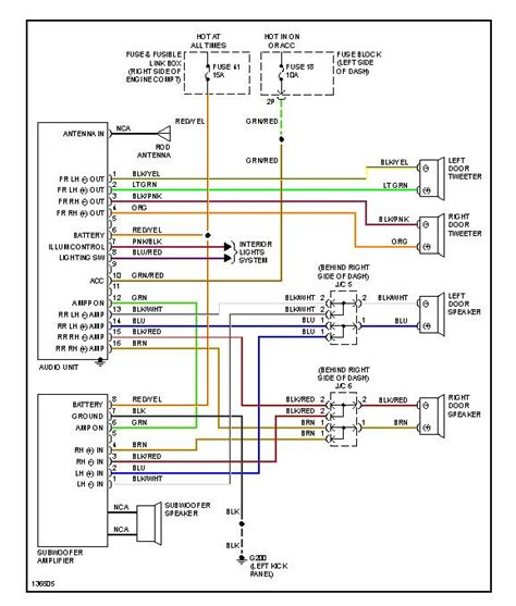 2000 nissan altima rear view wiring diagrams wiring
