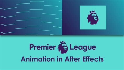 Premier League Logo Animation Easyaftereffects Net Premiere Pro Logo Animation Template