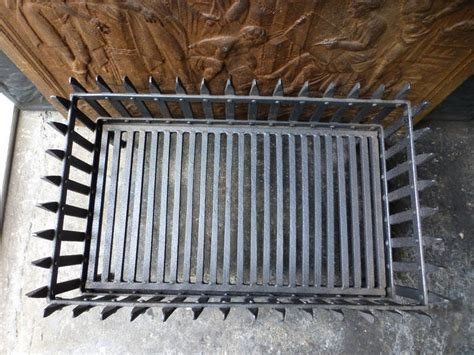 Vintage Fireplace Grate by 19th Century Fireplace Basket Or Grate At 1stdibs