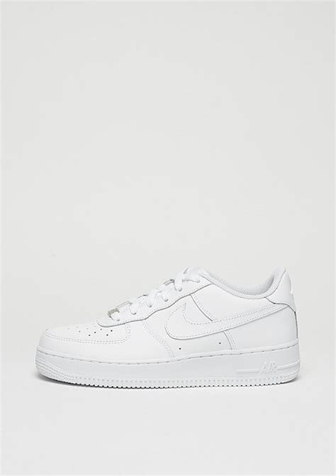 nike air force  gs whitewhite casual sneaker bei