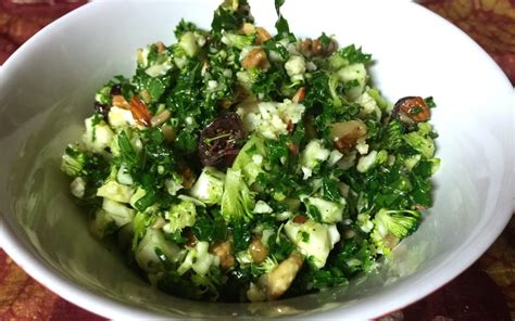 Detox Salad With Kale Broccoli And Cauliflower by Detox Salad Recipe Chopped Broccoli Kale Cauliflower