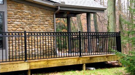 Key Clamp Handrails Railings And Patio Enclosures In Cincinnati Oh And