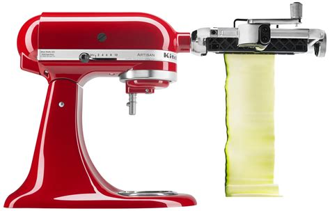 amazon kitchenaid amazon com kitchenaid ksm1apc spiralizer attachment with