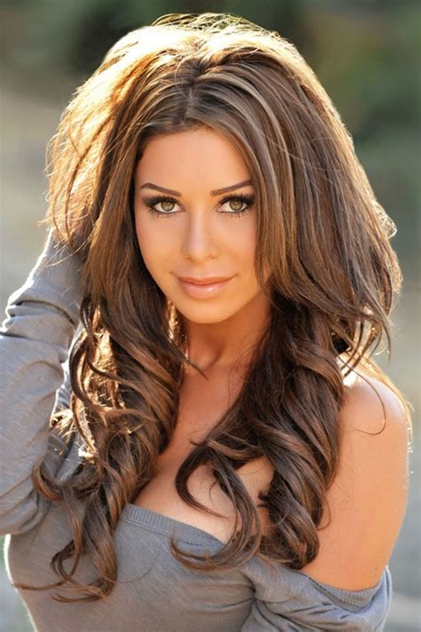 images of hairstyles with darker on top and blond on bottom dark brown hair with caramel highlights makeup and hair