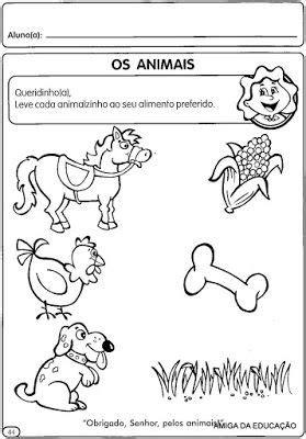ATIVIDADES PARA O MATERNAL VOL 3 - Desenhos Para Colorir