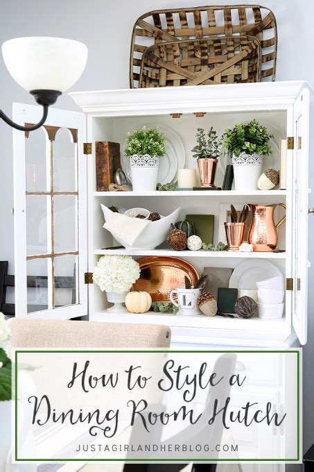How to Style a Dining Room Hutch    DIY Projects United
