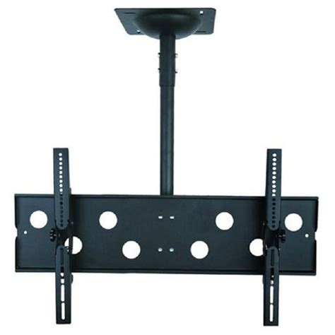 Mount Tv From Ceiling by Tygerclaw 32 Quot 63 Quot Tilting Flat Panel Tv Ceiling Mount