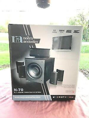 nolyn acoustics  home theater system