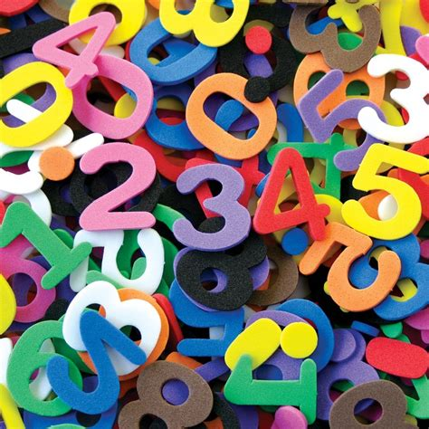 number sts rubber foam numbers cleverpatch