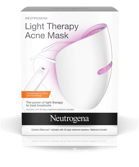 what is light therapy light therapy acne mask